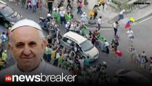 PROTESTING THE POPE: Brazilians Reportedly Angry at Government Spending, Lash Out at Pope