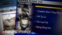 PUNKED: TV Station Airs Falls for Horrible On-Air Trick About Crashed Pilot's Names