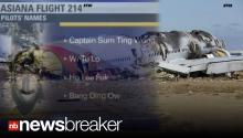 LAWSUIT: Asiana Airlines Reportedly Set to Sue After TV Report of Fake Names