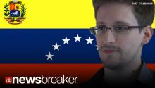BREAKING VIDEO: NSA Secrets Leaker Edward Snowden Picks Venezuela as New Home