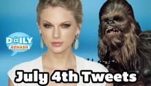 July 4th Celebrity Tweets