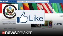 "PAID TO LIKE IT: Report Shows State Department Spent $630k on Facebook ""Likes"""
