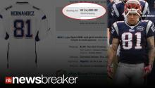 KILLER PRICE: NFL Jersey of Accused Killer Aaron Hernandez Selling for Thousands on E-Bay