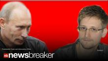 DEFIANCE: Russia's Putin Refuses to Turn over NSA Secrets Leaker Edward Snowden