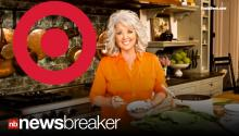DEEN DUMPED AGAIN: Target Cuts Ties with Embattled Celeb Chef Paula Deen