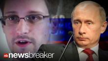 BREAKING VIDEO: Russian Pres. Confirms Snowden in Country; Will Not Turn Him Over