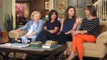 Betty White talks the 'Mary Tyler Moore' reunion on 'Hot in Cleveland'