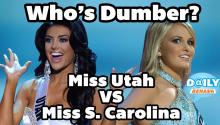Miss Utah Pageant Answer Fail