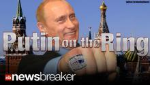 PUTIN ON THE RING: Russian President Denies Stealing Super Bowl Ring