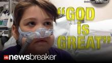 """GOD IS GREAT"": Mom Rejoices as 10 Year Old Receives Life Saving Lung Transplant"