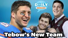 Tim Tebow Joins the Patriots