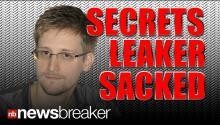SACKED: NSA Secret Leaker Fired; Made Less Money than Claimed