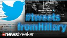 SECRETARY OF TWEETS: Hillary Clinton Starts Using Her Twitter Account!