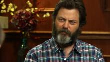 I Felt Like Luke Skywalker: Nick Offerman On Working With Megan Mullally