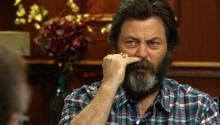 Woodworking Or Bacon? Nick Offerman Answers Social Media Questions