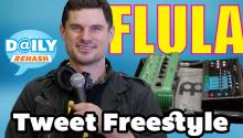 DJ Flula freestyles celebrity tweets