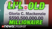 LI'L OLD MILLIONAIRE: $590M Powerball Winner is 84 Year Old Lady from Florida