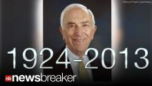 BREAKING: NJ Senator Frank Lautenberg Dies at Age 89