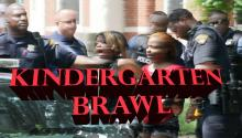 KINDERGARTEN BRAWL: