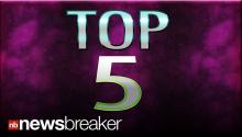 TOP 5: Newsbreaker Stories ReTweeted Thursday, May 30, 2013