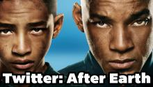 Twitter Reviews the movie After Earth