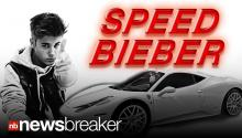 Justin Bieber in Trouble for Being Fast and Furious Again
