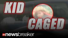 CAGED CHILD: Couple in Big Trouble After Driving With Kid in Dog Cage