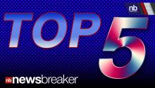 TOP 5: Newsbreaker Stories ReTweeted Tuesday, May 28, 2013