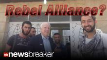 DEVELOPING: Senator McCain Sneaks Across Syrian Border