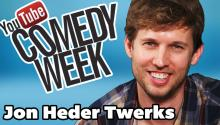 Guest Jon Heder Talks Twitter and Twerks