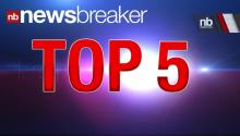 TOP 5: Newsbreaker Stories ReTweeted Thursday, May 23, 2013