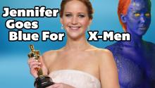 Jennifer Lawrence revealed as X-Men's Mystique