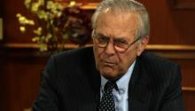 Same Sex Marriage and DADT From Donald Rumsfeld's Perspective