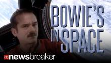 Astronaut Chris Hadfield Covers Bowie in Space