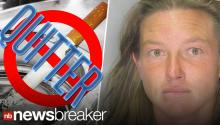 Woman Slaps Cop to Get Thrown in Jail and Quit Smoking