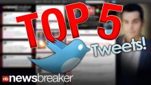 NEW: Top 5 Newsbreaker Stories ReTweeted Monday, May 7, 2013