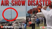 CAUGHT ON TAPE: Camera Captures Deadly Crash at Air Show