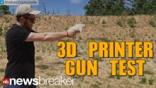 A BRAVE NEW WORLD: Working Gun Made With 3D Printer