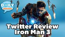 Twitter Reviews of Iron Man 3