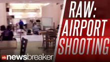 RAW: Eyewitness Video Shows Aftermath Of Houston Airport Shooting
