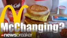 McDonalds Considers Breakfast Day and Night, Delivery Service