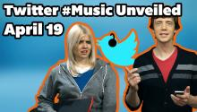 Twitter #Music App Unveiled!