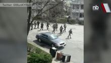 Massive Armed Manhunt for Marathon Bomb Suspect in Watertown, Mass.