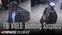 RAW VIDEO: FBI Video Shows Suspects One and Two in Boston Marathon Bombing
