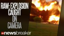 RAW: Dad Captures Texas Fertilizer Plant Explosion