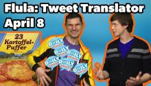 Celebrity Tweets Translated by DJ Flula
