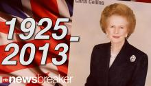 The Iron Lady Falls: Former British PM Margaret Thatcher Dead at 87