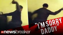 Dad Beats Children: Caught on Tape (WARNING GRAPHIC VIDEO)