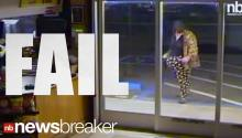 Caught on Tape: Epic Break-In Fail