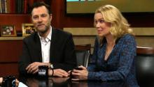 David Morrissey and Laurie Holden Of AMC's